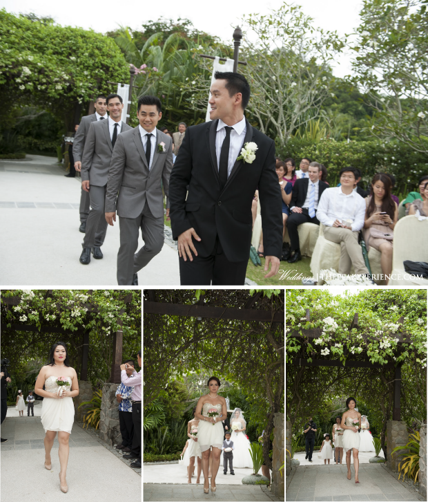 Bridal Party White & Grey | Wedding Photography by Jim Liaw Photography