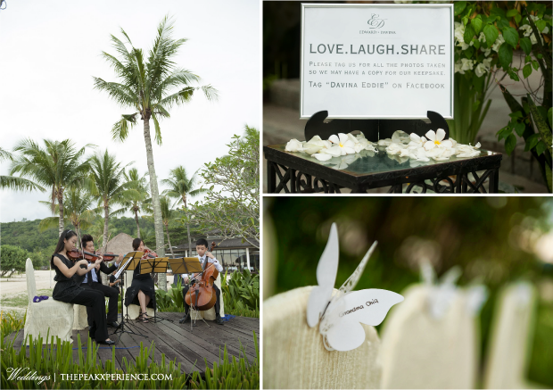 beach wedding by peak xperience planners