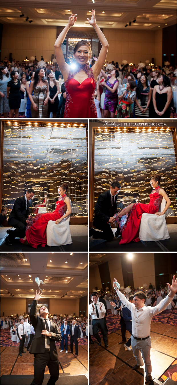 bouquet toss and garter toss | wedding planning by The Peak Xperience